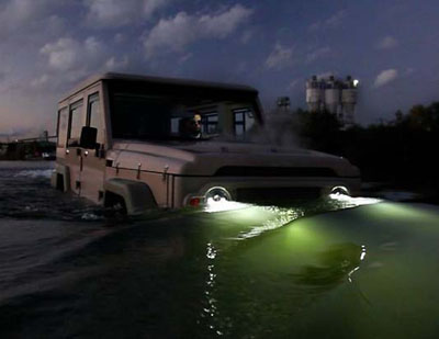 Amphicruiser amphibious car