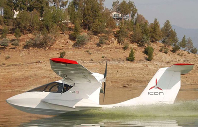 Icon A5 light-sport aircraft
